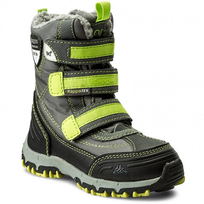 100% authentic ce072 099ff Schneeschuhe KAPPA - Ben Tex 260090K Grey/Lime 1633