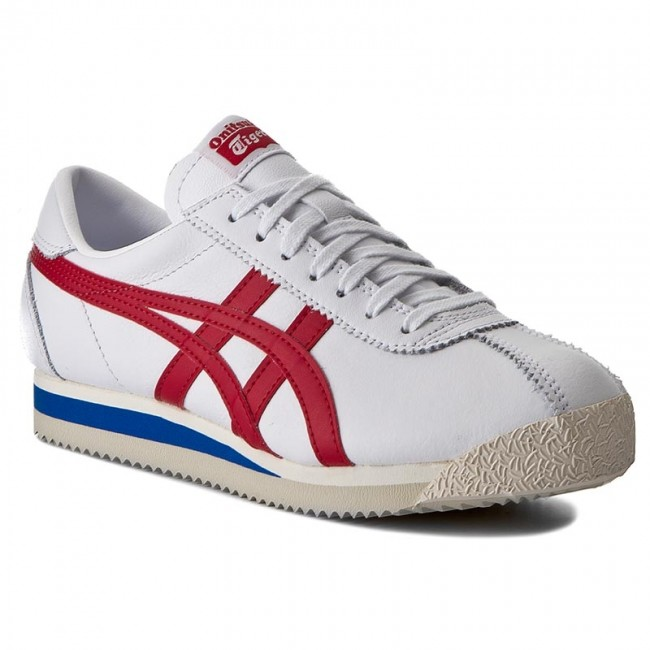 Sneakers ONITSUKA TIGER Corsair D713L WhiteTrue Red 0123