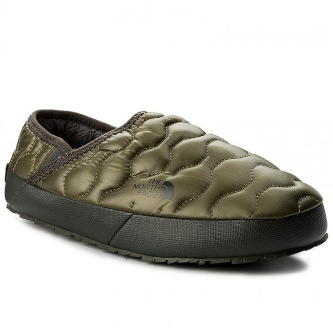 924e14c7a4 Hausschuhe THE NORTH FACE - Thermoball Traction Mule IV T9331EZFP Shiny  Burnt Olive Green/Black Ink Green - Hausschuhe - Pantoletten und  Sandaletten ...