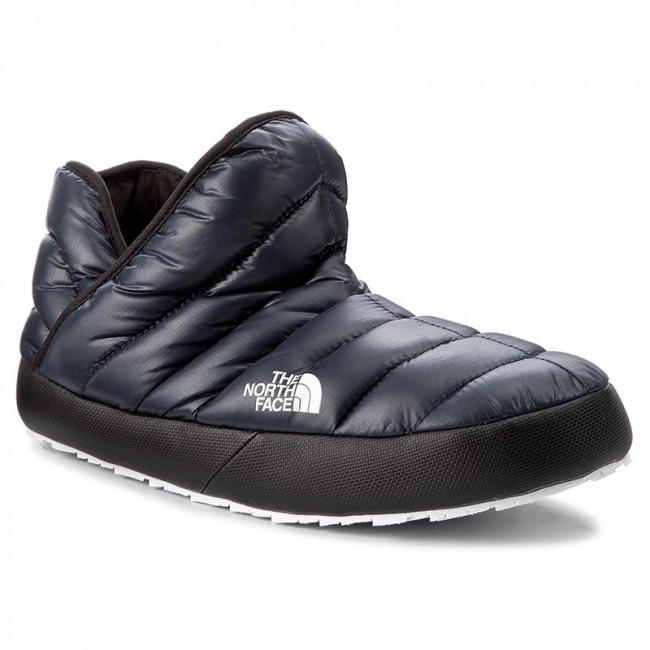 hot sale online b5a60 3e1bf Hausschuhe THE NORTH FACE - Thermoball Traction Bootie T93MKHYXE Shiny  Urban Navy/Tnf White