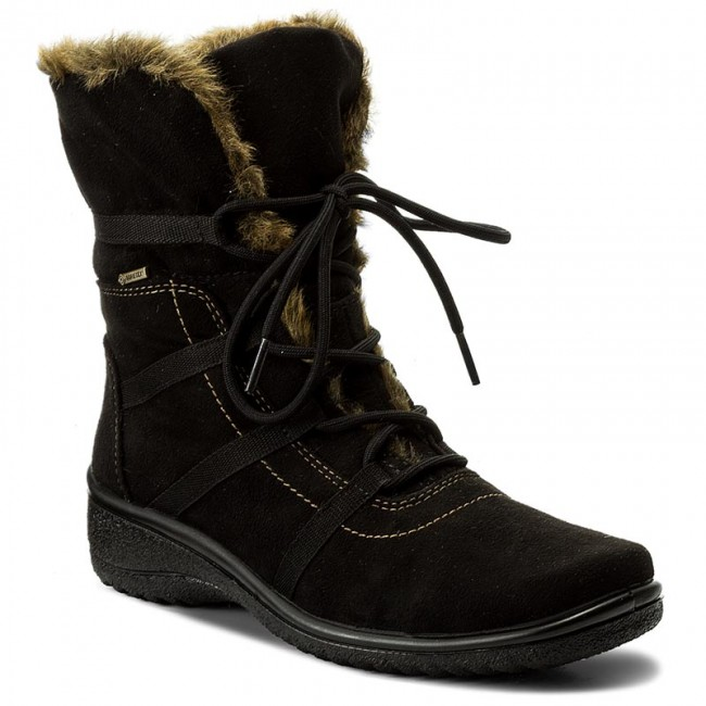 official photos 9efdf e0a85 Stiefeletten ARA - GORE TEX 12-48523 Schwarz 1