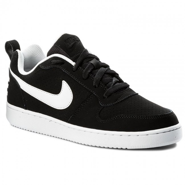 cca94db065784 Schuhe NIKE - Court Borough Low 838937 010 Black/White - Sneakers -  Halbschuhe - Herrenschuhe - eschuhe.de