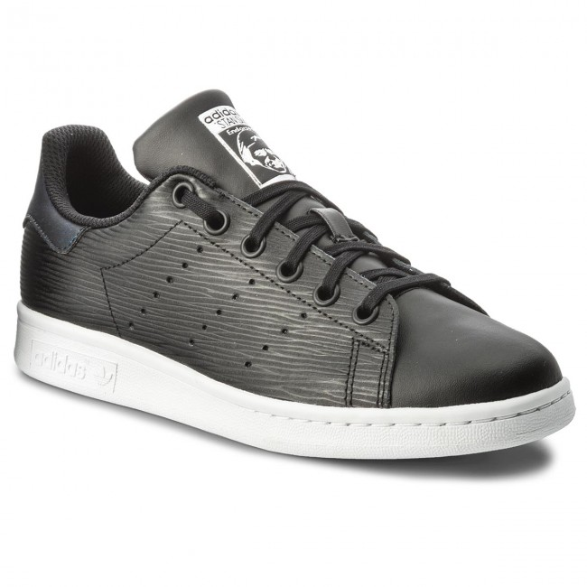 new products 9a8d3 64af0 Schuhe adidas - Stan Smith J CM8191 Cblack/Cblack/Silvmt