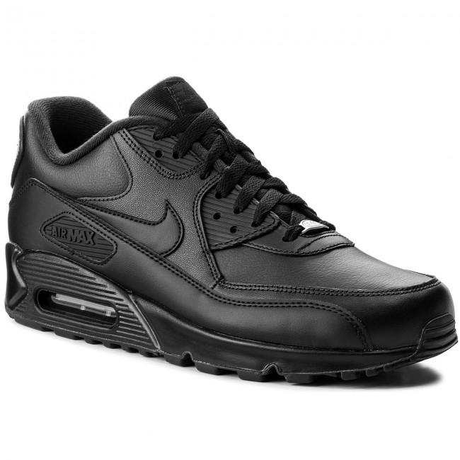 Schuhe NIKE - Air Max 90 Leather 302519 001 Black/Black