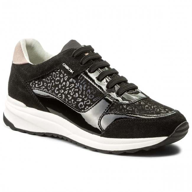 Sneakers GEOX D Airell C D642SC 0DC22 C9999 Black