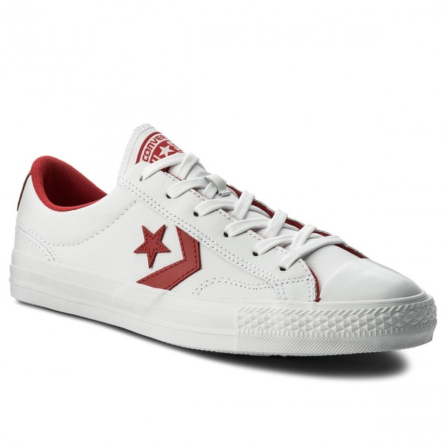 Sportschuhe CONVERSE - Star Player Ox 159739C White/Enamel Red/White
