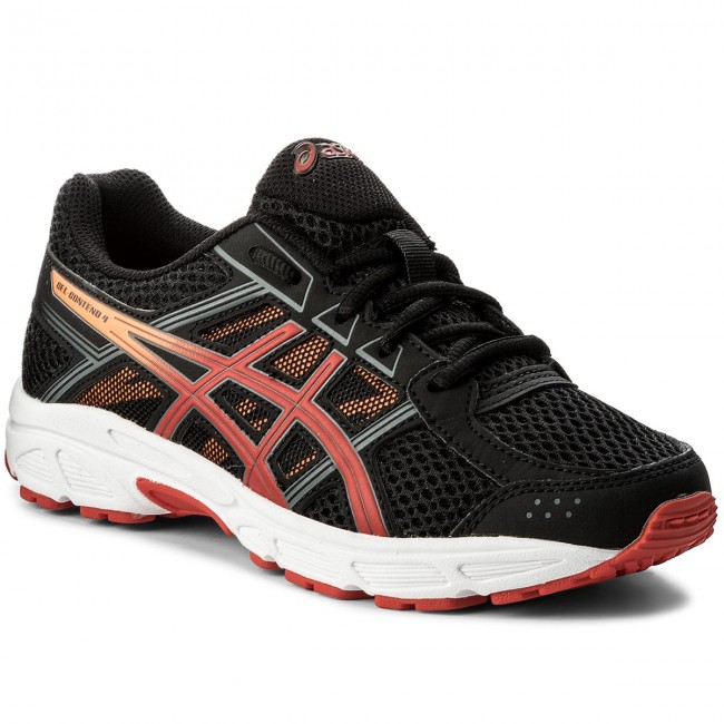 Schuhe ASICS Gel Contend 4 Gs C707N BlackFiery RedShocking Orange 9023
