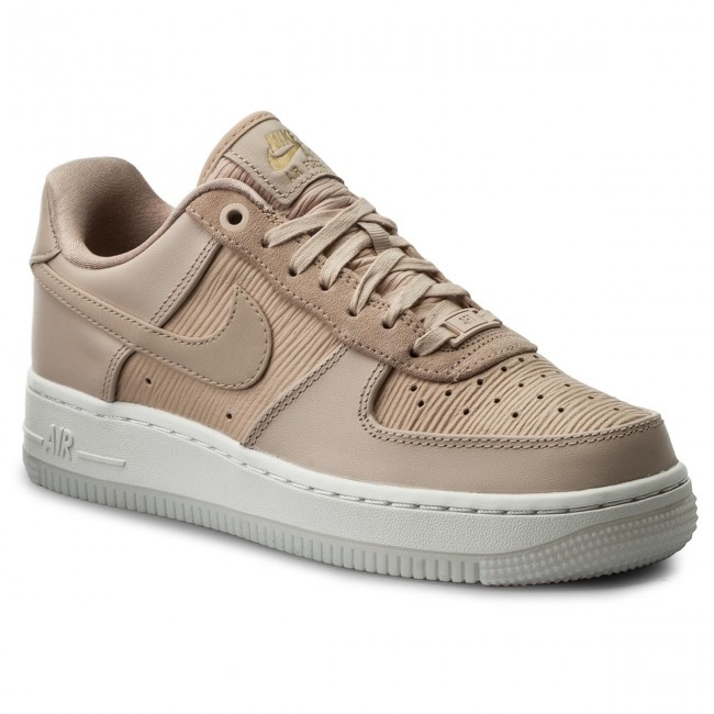 Schuhe NIKE Wmns Air Force 1 '07 Lx 898889 201 Particle BeigeParticle Beige
