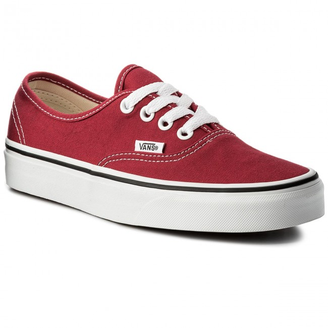 Turnschuhe VANS Authentic VN0A38EMQ9U CrimsonTrue White