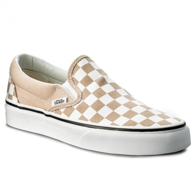 Turnschuhe VANS - Classic Slip-On VN0A38F7QCO (Checkerboard) Frappe/Tru