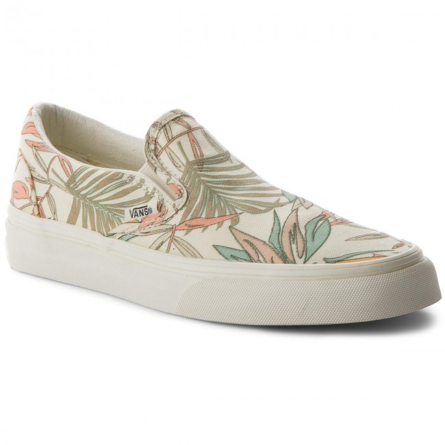 Turnschuhe VANS Classic Slip On VN0A38F7Q8I (California Floral) Marsh
