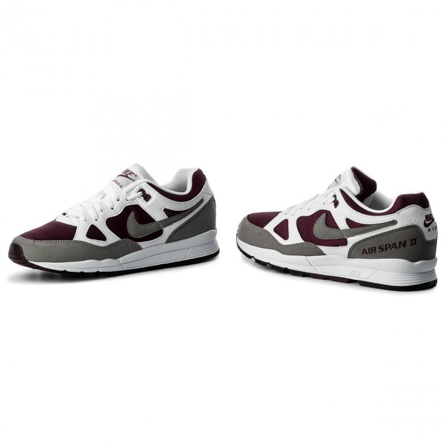 Ah8047 102 Nike Air Span Ii Weiß Dust Bordeaux Schwarz