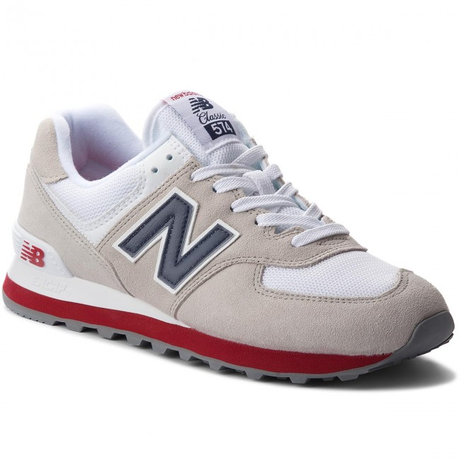 Sneakers NEW BALANCE - ML574ESA Beige Weiß