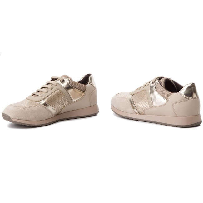 Deynna Geox D846fc Sneakers D C Taupe 004au C6029 O80Nvmnw