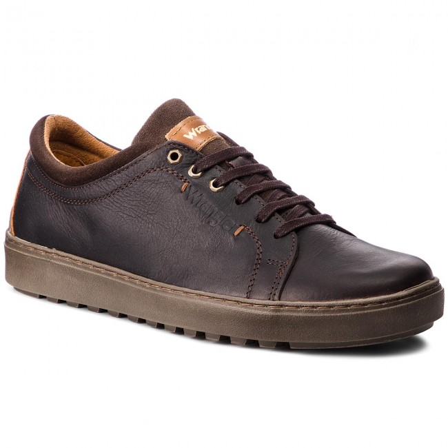 free shipping 22218 f425b Sneakers WRANGLER - Historic Derby WM182060 Dk.Brown 30