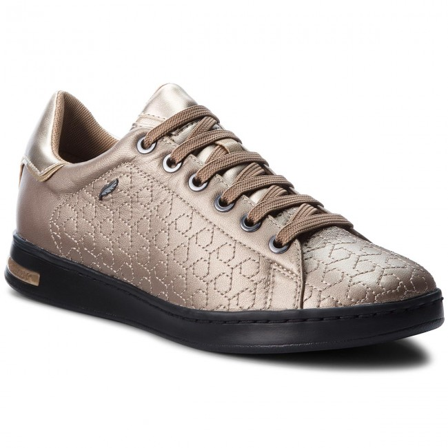 Sneakers GEOX D Jaysen A D621BA 0BVNF CB500 Champagne