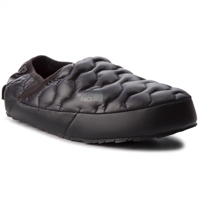 f2a0193a02 Hausschuhe THE NORTH FACE - Thermoball Traction Mule IV T993IFYWY Shiny Tnf  Black/Beluga Grey - Hausschuhe - Pantoletten und Sandaletten - Damenschuhe  ...
