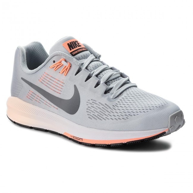 Schuhe NIKE - Air Zoom Structure 21 904701 008 Wolf Grey/Dark Grey
