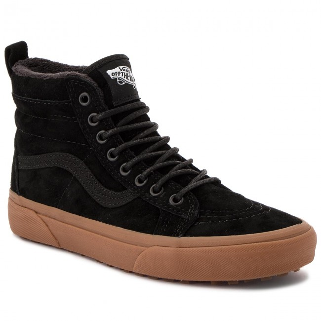Vans Sk8 Hi Mte Mens Trainers in Black Green