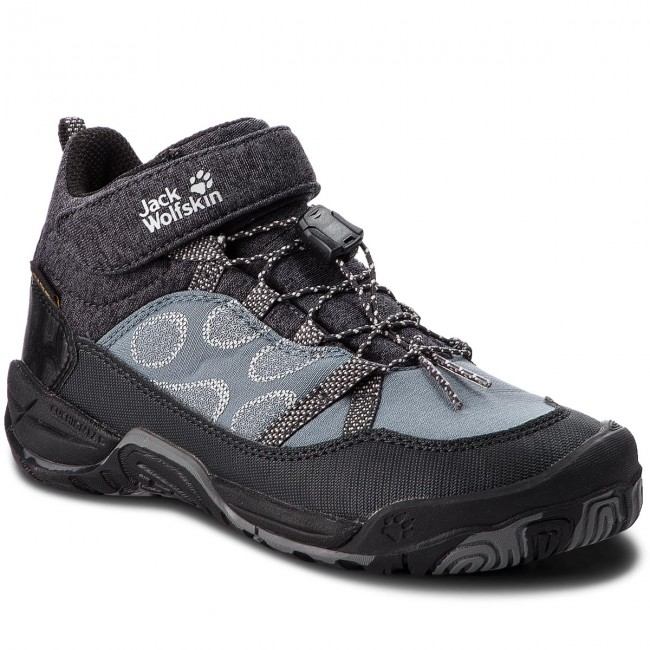 new concept aa218 91ecc Halbschuhe JACK WOLFSKIN - Jungle Gym Texapore Mid K 4030651 Wolf