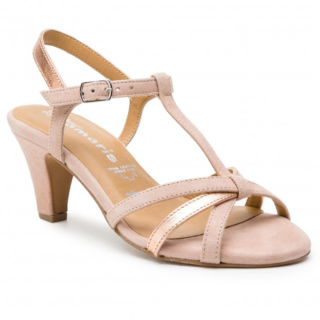 Tamaris Sandalette High Heeled Sandale Rose 1 28388 38 552