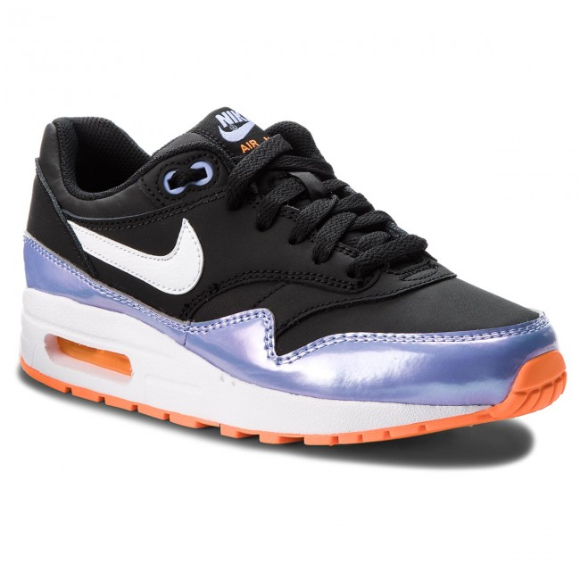 Schuhe NIKE - Air Max 1 (GS) 807605 003 Black/White/Twilight Pulse ...