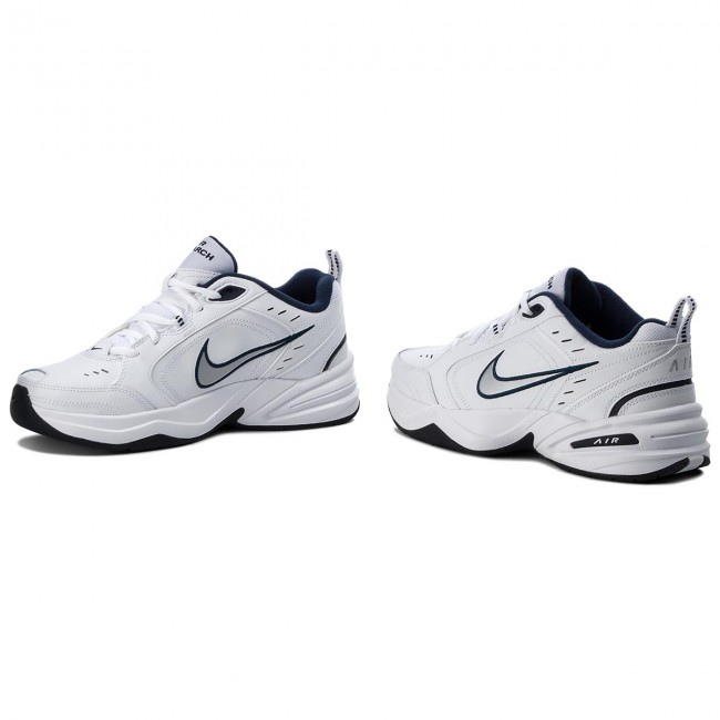 Schuhe NIKE Air Monarch IV 415445 102 WhiteMetallic Silver