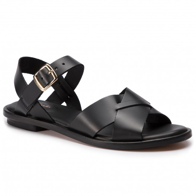 Sandalen CLARKS Willow Gild 261394324 Black Leather