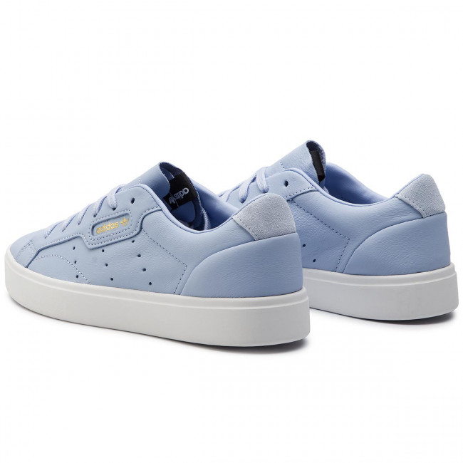 adidas sleek damen blau