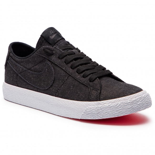 Schuhe NIKE Sb Zoom Blazer Low Cnvs Decon AH3370 001 BlackBlack Anthracite