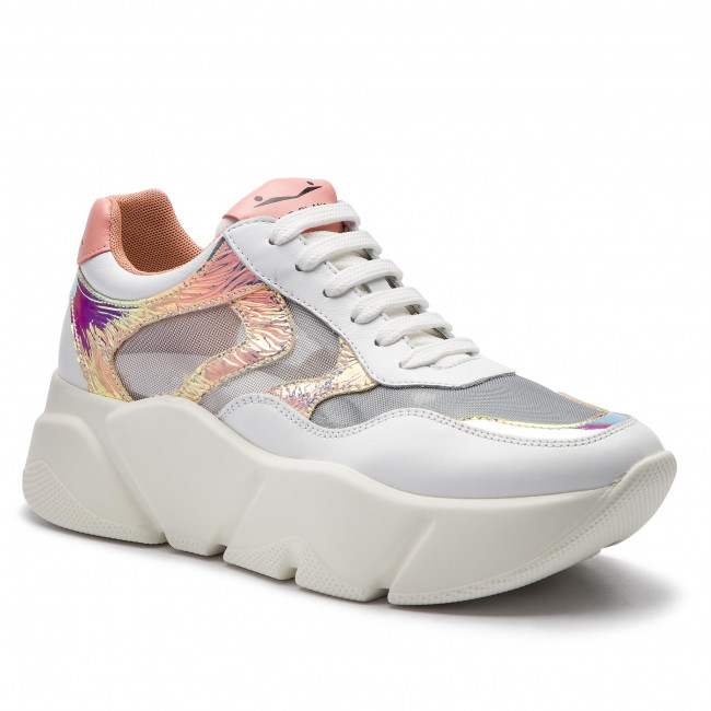 Sneakers VOILE BLANCHE Monster Mesh 0012013592.03.1N02 BiancoArgento