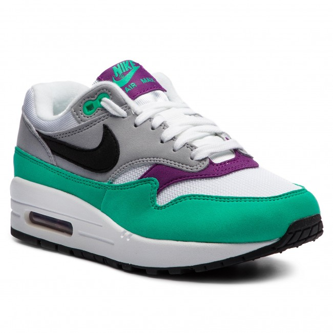 Schuhe NIKE - Air Max 1 319986 115 White/Black/Wolf Grey - Sneakers ...