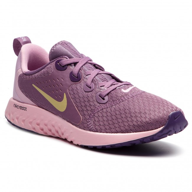 7cb7d0ed0d Schuhe NIKE - Legend React (GS) AH9437 500 Violet Dust/Mtlc Gold Star