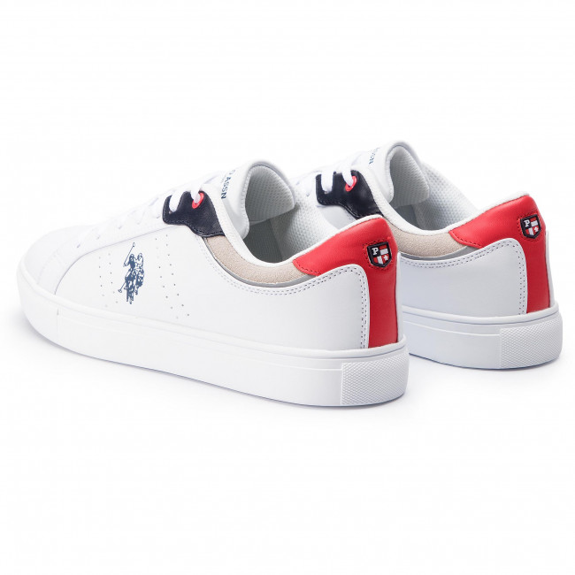 Sneakers U.S. POLO ASSN. Curty CURTY4170S9YH1 WhiRed