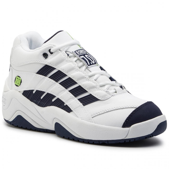 huge discount 765d2 65b49 Sneakers K-SWISS - Si-Defier 7.0 06140-166-M White/Navy/Lime