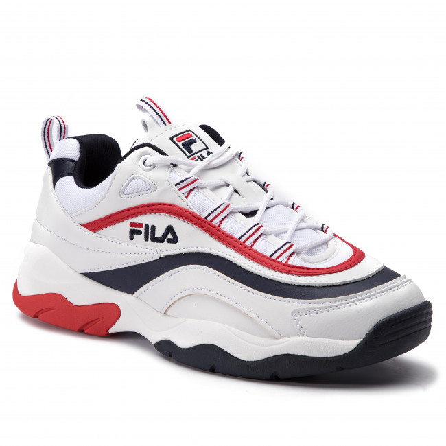 Sneakers FILA - Ray F Low 1010578.01M White/Fila Navy/Fila Red