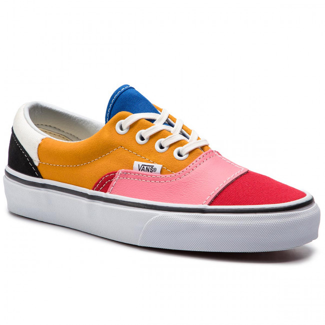 Turnschuhe VANS - Era VN0A38FRVMF1 (Patchwork) Multi/True Wh