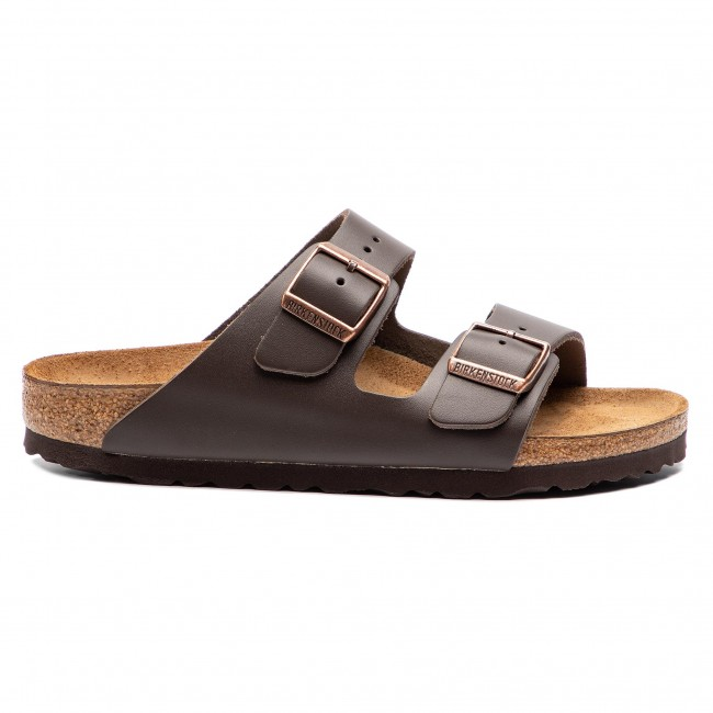Pantoletten BIRKENSTOCK Arizona Bs 0051103 Dark Brown