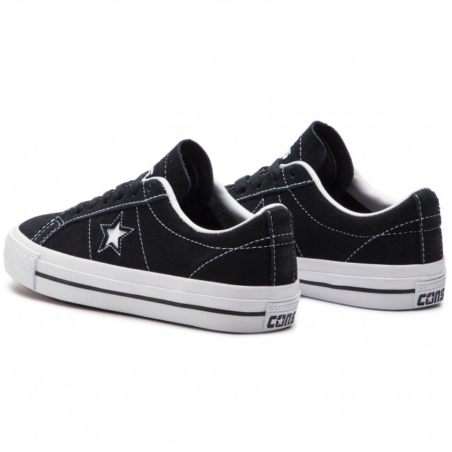 Turnschuhe CONVERSE One Star Pro Ox Bl 159579C BlackWhiteWhite