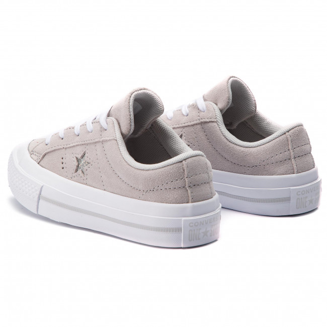 Turnschuhe CONVERSE One Star Ox 663589C MouseMouseWhite