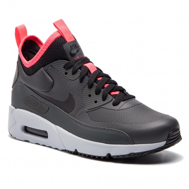 Schuhe NIKE Air Max 90 Ultra Mid Winter 924458 003 AnthraciteBlackSolar Red