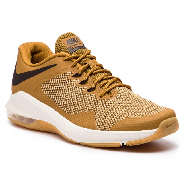 Schuhe NIKE Air Max Alpha Trainer AA7060 700 WheatVelvet BrownClub Gold