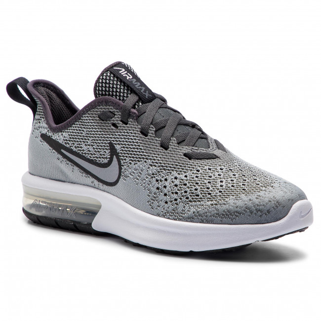 Schuhe NIKE Air Max Sequent 4 (GS) AQ2244 003 Wolf GreyWolf Grey Anthracite