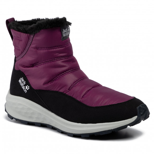 Stiefeletten JACK WOLFSKIN Nevada Ride Low W 4035821 PurplePhantom
