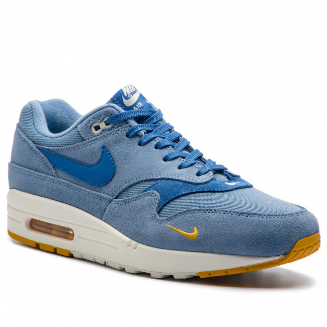Schuhe NIKE Air Max 1 Premium 875844 404 Work BlueMountain Blue