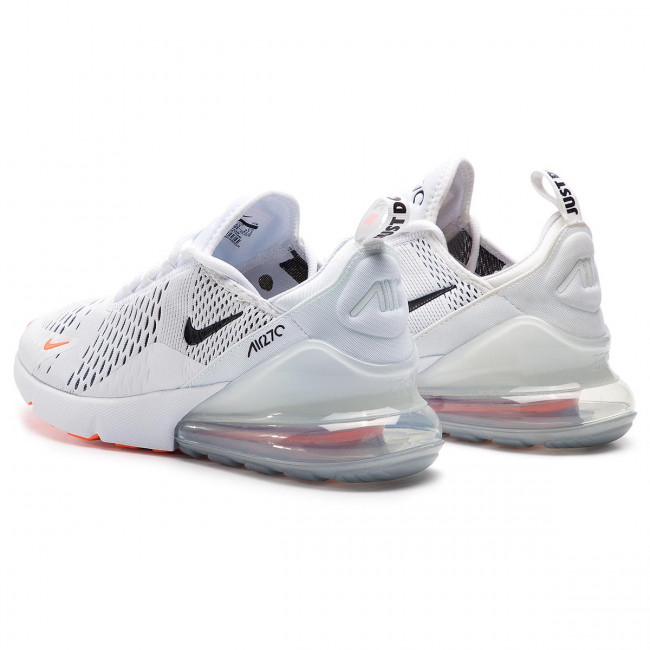 Schuhe NIKE Air Max 270 AH8050 106 WhiteBlack Total Orange