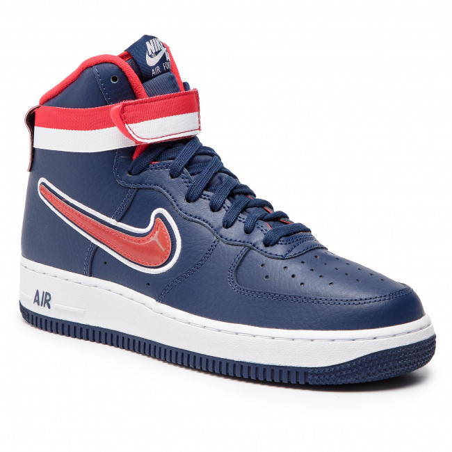 Schuhe NIKE Air Force 1 High '07 Lv 8 Sport AV3938 400 Midnight NavyUniversity Red