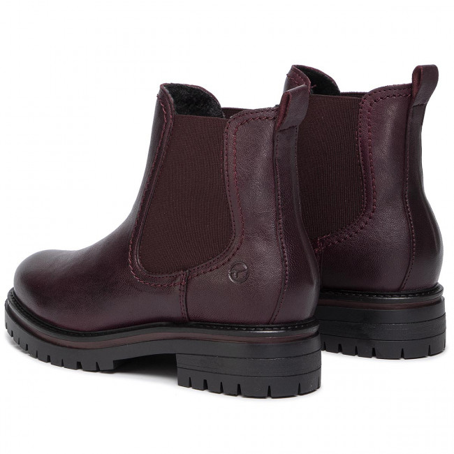 Stiefeletten TAMARIS 1 25474 23 Bordeaux Leath 597
