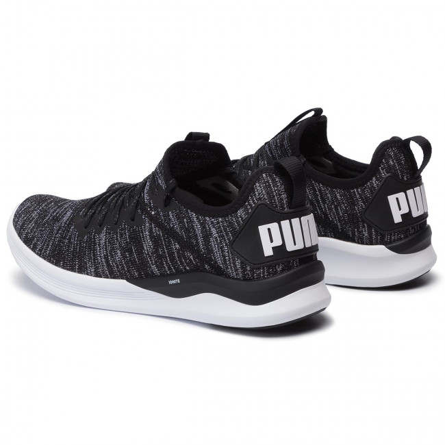Schuhe PUMA Ignite Flash EvoKnit 190508 02 BlackAsphaltWhite