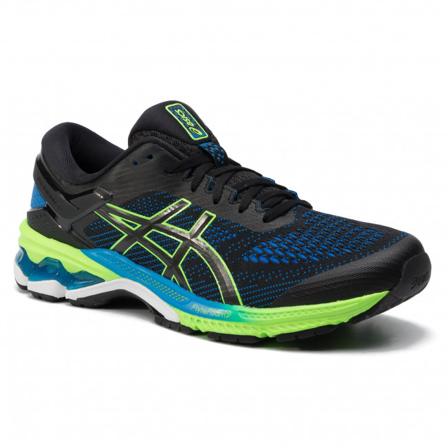 newest 46693 7761c Schuhe ASICS - Gel-Kayano 26 1011A541 Black/Electric Blue 003